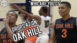 Download #2 RANKED OAK HILL GETS ANGRY! LOCAL KID DROPS 42 Points on 2 McDonalds ALL AMERICANS!! Video