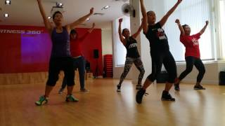 Download Body Jam 77 Rehearsal - Tropical Hip Hop at Fitness 360 Dubai Video