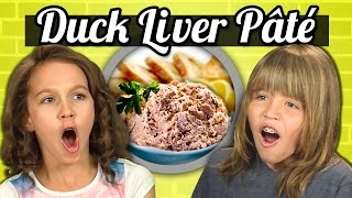 Download KIDS vs. FOOD - DUCK LIVER PATE Video