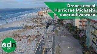 Download Drones reveal Hurricane Michael's destructive wake Video