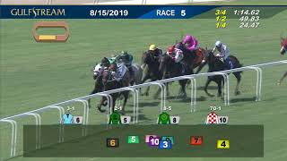 Download Gulfstream Park August 15, 2019 Race 5 Video