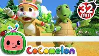 Download The Tortoise and the Hare | +More Nursery Rhymes & Kids Songs - CoCoMelon Video
