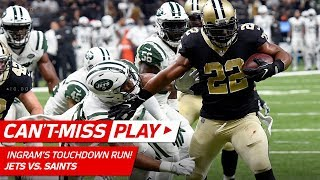 Download Mark Ingram WILL NOT BE STOPPED on TD Drive vs. NY! | Can't-Miss Play | NFL Wk 15 Highlights Video
