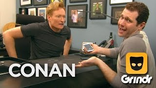 Download Conan & Billy Eichner Join Grindr - CONAN on TBS Video