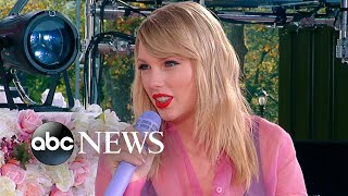 Download Taylor Swift says she plans to re-record her previous next work next year I Nightline Video