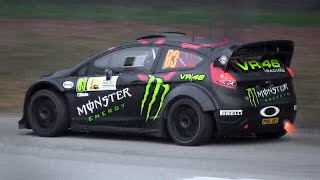 Download Ford Fiesta RS WRC Tribute with Pure Sounds, Burnouts, Flames & More Video