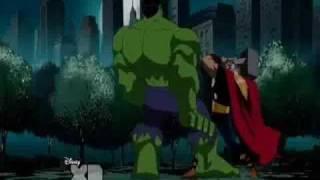 Download Hulk vs Thor (5th Battle) Video