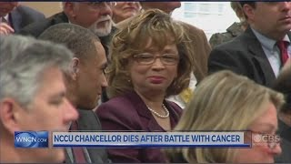 Download NCCU Chancellor, Dr. Debra Saunders-White, dies after cancer battle Video