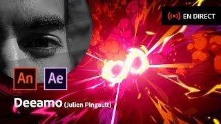 Download Masterclass avec Deeamo (Julien Pingault) | VFX 2D dans Animate | Adobe France Video