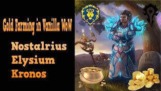 Download How to Farm up to 150 Gold/Hour Nostalrius/Elysium/Kronos Video