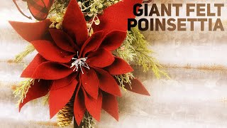 Download Making a DIY Poinsettia from Felt because I can't afford one from Hobby Lobby - Christmas 2019 Video