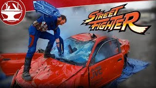 Download Streetfighter: Captain America vs a CAR! (BONUS STAGE IN REAL LIFE) Video