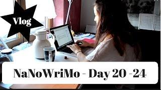 Download NaNoWriMo 2016 - Vlog Day 20-24 Video