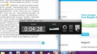 Download Clown Fish for skype Video