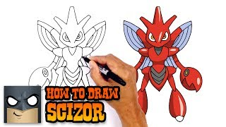 Download How to Draw Pokemon | Scizor | Step by Step Video
