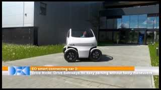Download Flexible EO Smart Connecting Car 2 can drive sideways and shrink Video