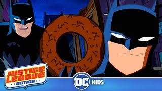 Download Justice League Action | Funniest Batman Moments! | DC Kids Video
