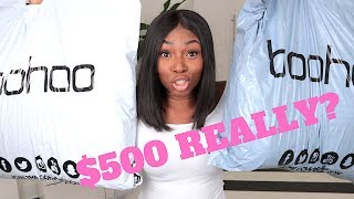Download I SPENT $500+ ON BOOHOO THIS IS WHAT I GOT! REALLY? Video