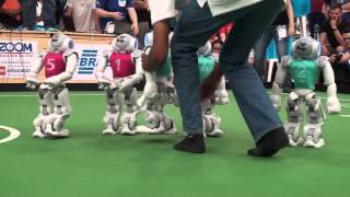 Download 2014 RoboCup SPL Grand Final: rUNSWift Vs HTWK Video