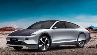 Download Self-Charging Electric Car | 1000 Miles of Extra Solar Range per Month Video
