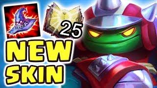 Download *NEW* 1200+ AP SWEEPER RAMMUS JUNGLE SPOTLIGHT (25 kilIs) | THE BEST RAMMUS SKIN EVER - Nightblue3 Video