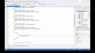 Download ASP MVC Tutorial - Binding to a ViewModel List Video
