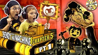 Download BENDY & the INK MACHINE Chapter 5! The END of FGTEEV + BENDY! (Secrets on the Wall) Video