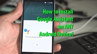 Download How to Install Google Assistant on ANY Android Running Nougat! [Root Required] Video