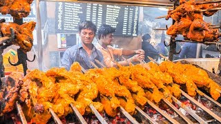 Download INDIAN STREET FOOD Tour in LUCKNOW with MONSTER BBQ CHICKEN and CHEAP SPICY CURRY ! Video