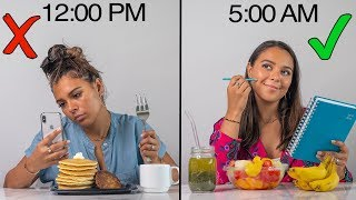 Download How to Wake Up EARLY & Be Productive! My Healthy Morning Routine! Video