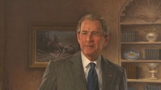 Download George W. Bush Portrait Unveiled: White House Ceremony With President Obama Video