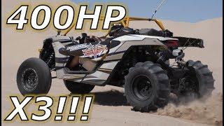 Download Driving a 400HP Can Am Maverick X3!!! Video