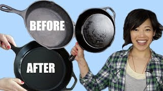 Download CAST IRON Pans 101 | How to season, wash & restore Video