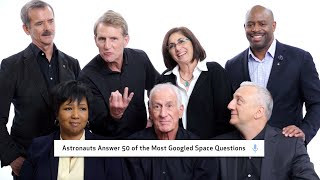 Download Astronauts Answer 50 of the Most Googled Space Questions | WIRED Video