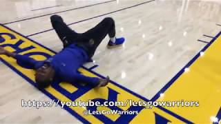 Download ″30-by-35″ #30x35: Steph Curry (hits 32 in a row 😱) & Durant bury 3 after 3 til final miss floors KD Video