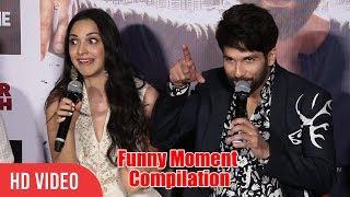 Download Back 2 Back Hilarious Funny Moment | Kabir Singh Trailer Launch | Shahid Kapoor, Kiara Advani Video