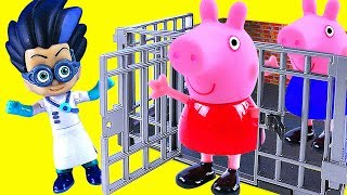 Download Toy PEPPA PIG Toys Go To Jail Video