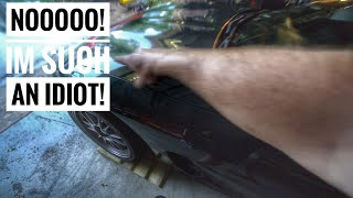 Download Crashed into my corvette with my truck :( Video