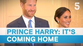 Download Meghan Markle and Prince Harry meet Ireland President Michael D Higgins - 5 News Video