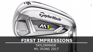 Download TaylorMade 2017 M1 Irons Review - First Hit Video