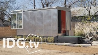 Download Kasita is a tiny home that goes big on technology Video