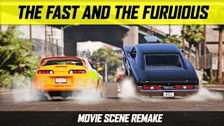 Download Grand Theft Auto 5 - The Fast and the Furious Drag Scene Video