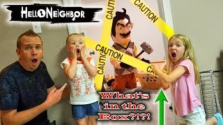 Download Hello Neighbor in Real Life! Crate Creatures Toy Scavenger Hunt & Secret Mystery Box Found! Video