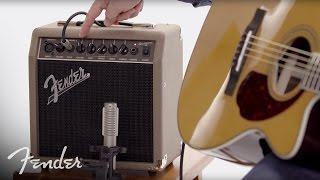 Download Fender Acoustasonic™ 15 Amplifier | In-Depth Look | Fender Video