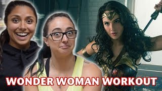 Download WE TRIED WONDER WOMAN'S WORKOUT (feat. Michelle Khare) Video