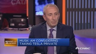 Download Musk's wish to take Tesla private seems reasonable, strategist says | In The News Video