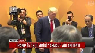 """Download TRAMP ÖZ İŞÇİLƏRİNİ """"AXMAQ"""" ADLANDIRDI Video"""