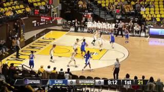 Download NCAAW Basketball. Wyoming vs San Jose State 13.01.16 Video