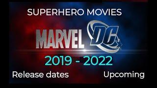 Download SUPERHERO MOVIES MARVEL DC 2019 2020 Release Dates| Updated video link in description Video