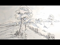 Download How to draw a beautiful village scenery for kids Video